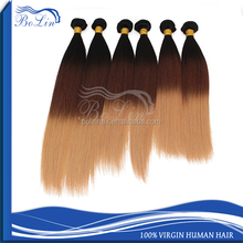 Bolin hair competitive price brazilian orange remy hair extensions