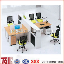 2013 office partition workstation with wooden computer table for durian furniture