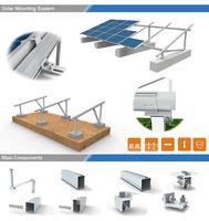 High-quality ground solar energy brackets