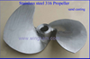 Propellers Stainless steel 316