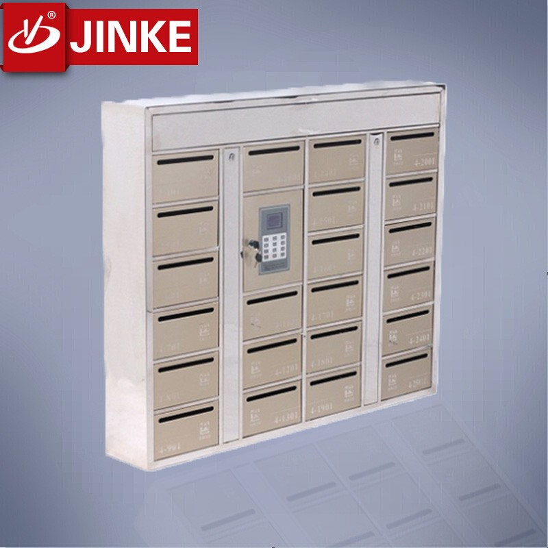 Firmly Standing Lockable Wrought Iron Mailboxes Novelty Mail Box Postal Box