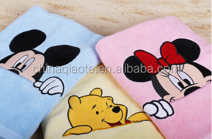 Cheap Kids Bath Towel Super Soft Cartoon Bath Towel For Baby