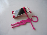 novelty Flexible Hanger Style Cell Phone Stand Holder