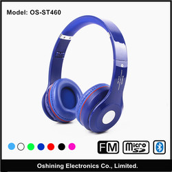 wholesale bluetooth folding wirless music headphone (OS-ST460)