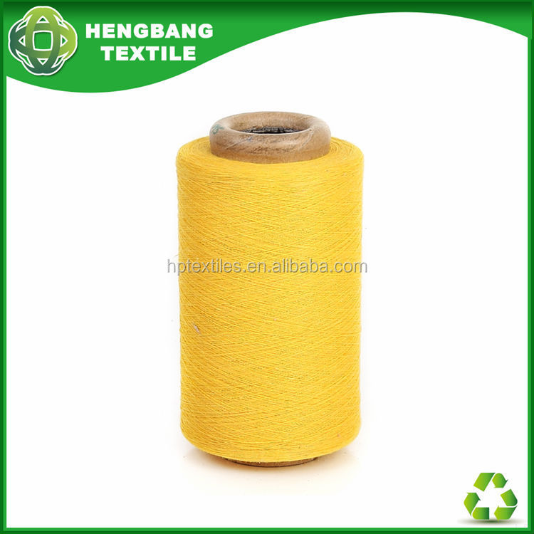 20s yellow colour cotton yarn buyer use for jersey HB365 in China