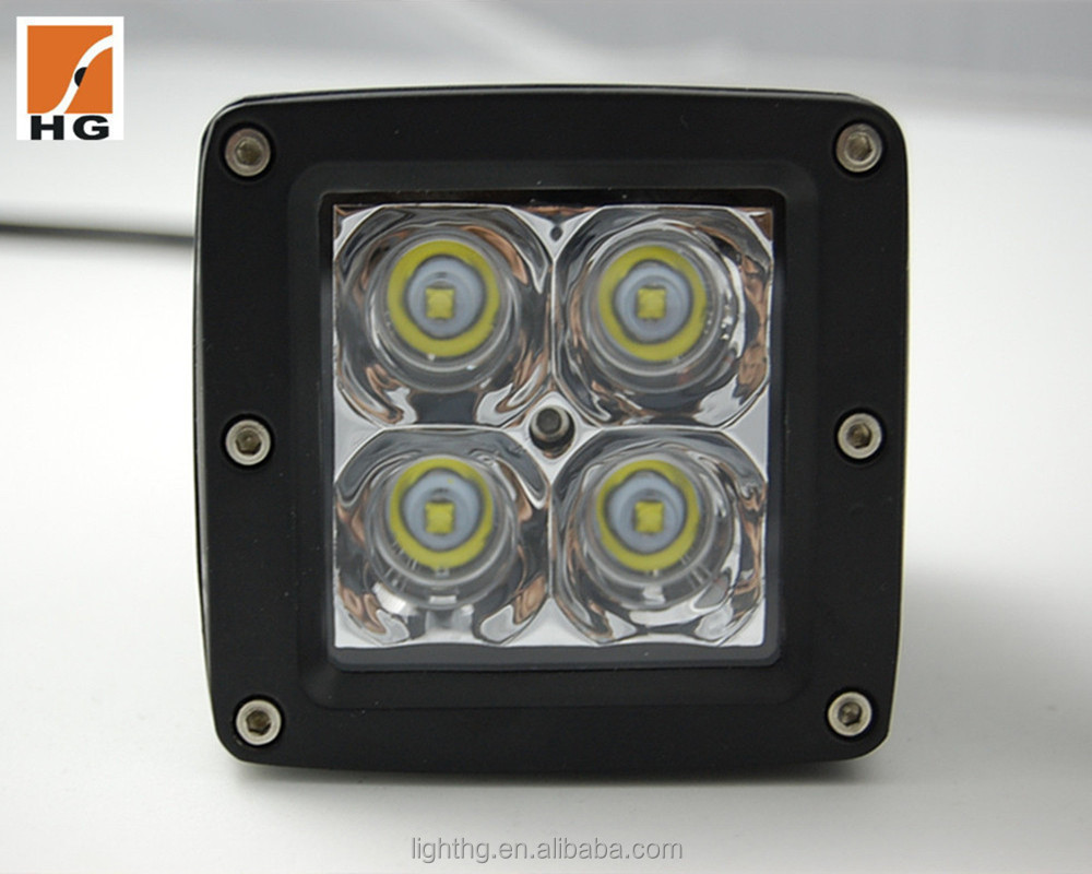 HG-8952 New High Quality CREE Led Light Of Working Off road 20W Led Work Light For Motorcycle 3D Reflector