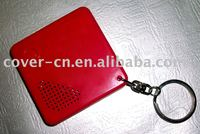 sound/recordable keychain/ key ring