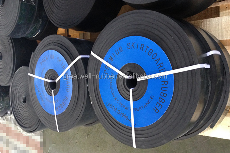 Customized Flexible Industrial Rubber Skirting Board Sheet