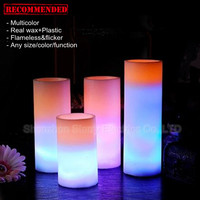 hot selling wax christmas led candle items