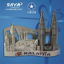 Malaysia twin tower souvenir card holder