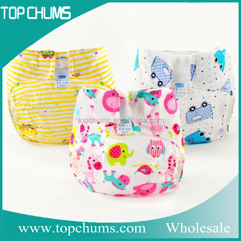 Adjustable cloth washable sleepy baby diaper wholesale usa