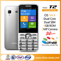 Keypad smart mobile phone T2 2016 Android 2.8 inch touch screen wholesale mobile phone