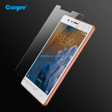 9H anti-shock tempered glass screen protector for Nokia 3 ,OEM /ODM welcome