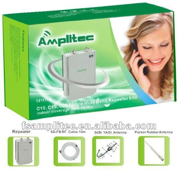 Consumer Booster/cell phone signal repeater/amplifier/enhancer