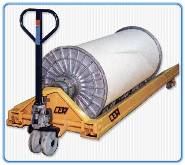 Hand Pallet Truck for Beam Transportation