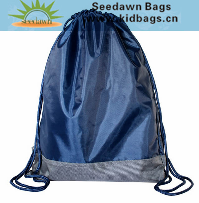Quanzhou Bag Manufacturer OEM Cord Drawstring Backpack Bag as Promotion Activity Gift Bag