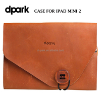 d-park Design Pull-up Leather Case for Apple iPad Mini 2 Tablet Covers Cases Manufacturer
