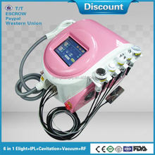 Multifunctional ipl hair removal system/cavitation machine price/best rf skin tightening face lifting machine