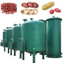 Screw Type oil solvent extraction of peanut cake oil production line