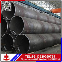 heat solar collector ssaw steel lean spiral pipe