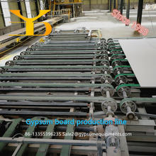 9.5-12.5mm gypsum board machine/plaster of paris board equipment for paper faced gypsum board production line