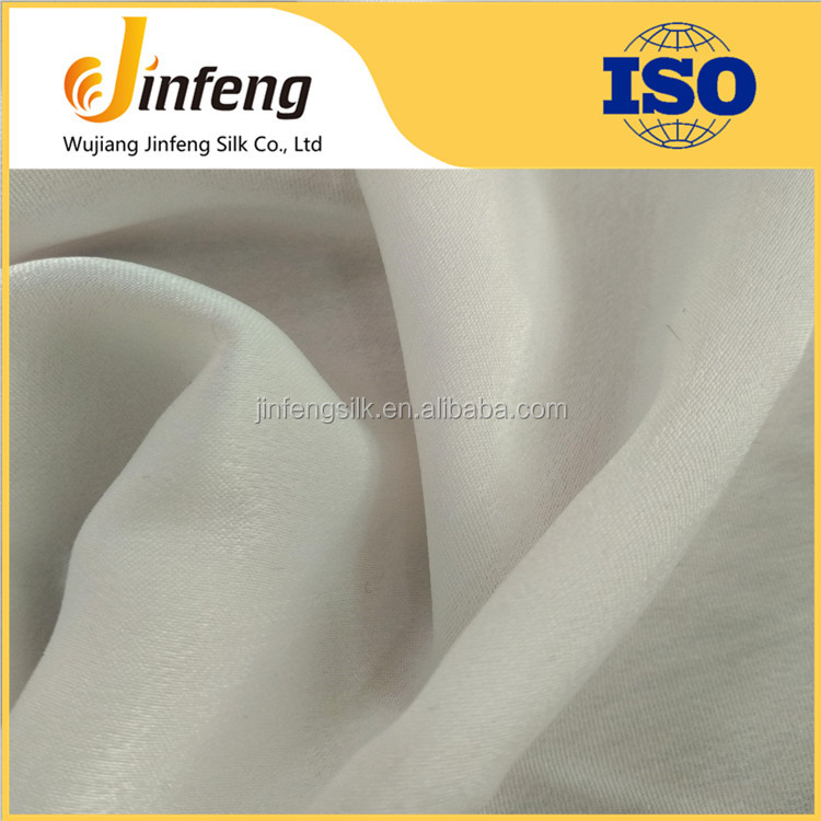 polyester satin chiffon silk feel pure colour fashion women shirt fabric