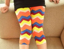 Fashion Children Chevron Leggings
