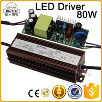 constant current 2400ma 80w led driver power supply