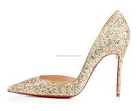 CATWALK-S0160169 2015 China Wholesale Bridal Pointed-toe High Heel Lady Shoes Fashion Sequin High Heel Shoes for Women