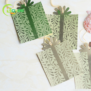 Full Set Printing Garment Clothes Paper Hang Tags Design