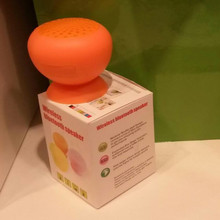 Silicone Suction Cup Mushroom Speaker Mini Bluetooth Speaker Waterproof Speaker