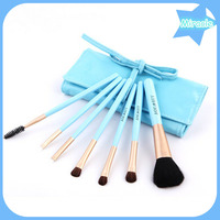 7pcs per set goat hair cosmetic brush with makeup tools professional makeup brush for beauty
