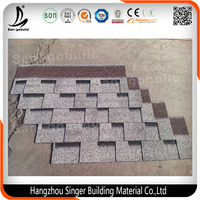 Cheap Price and Hot Sales Colorful Asphalt Roof Shingles Made in China/ 3-tab Building Material