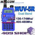 Packin wuv5r two way Dual band waccom walkie selling transceiver
