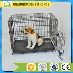 Metal Pet Dog Cage With Wheels