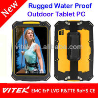 3G Android Rugged 7inch Waterproof Tablet PC