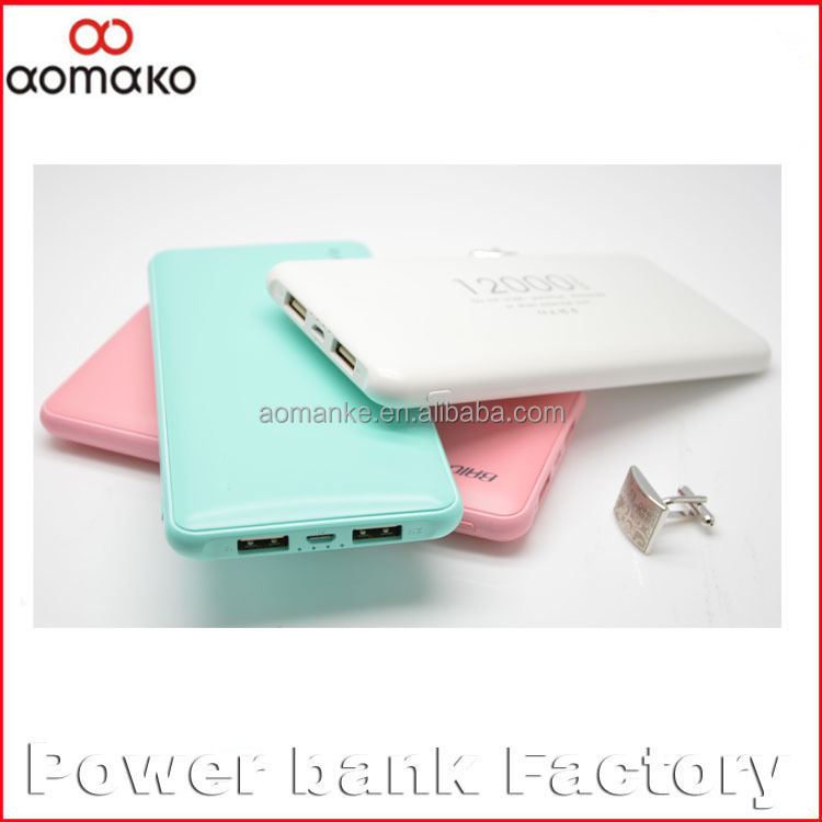 PP-201 polymer power bank 2 usb mobile phone charger 10000mah large capacity for samsung phone phones power bank'