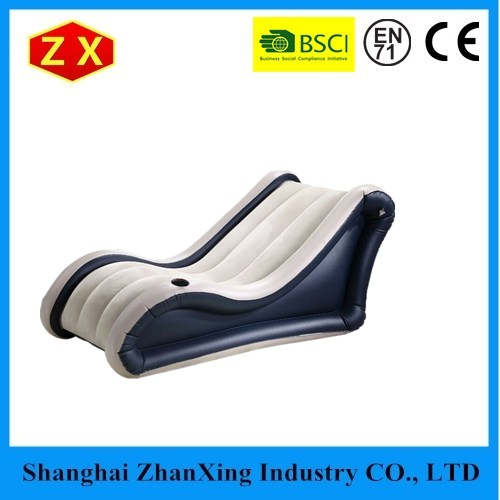 China Produced Giant Inflatable Air Sofa Folding Inflatable Sex Sofa