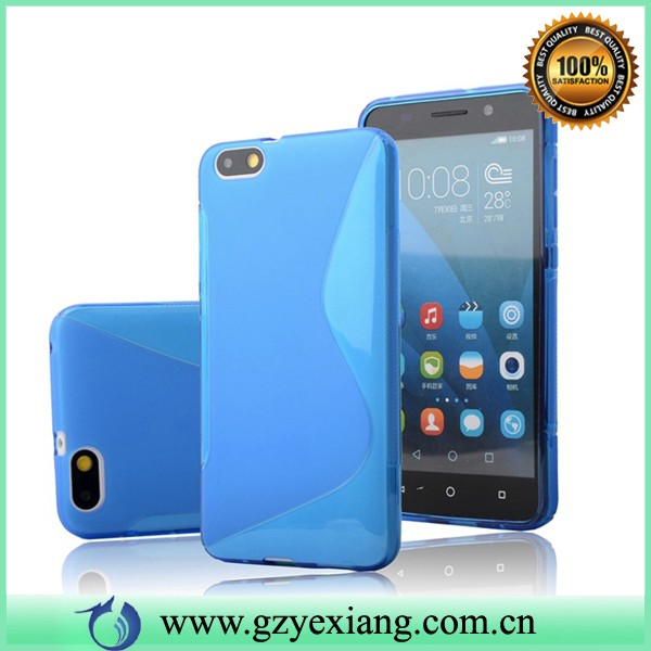 alibaba s line tpu soft back cover case for huawei honor 4x phone case