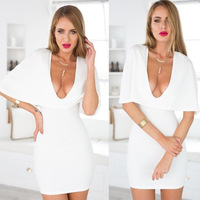 6101 aliepress white collar dress wholesale sey summer dress Cape V eplosion sey club dress