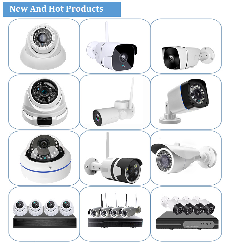 Weatherproof IP Bullet Camera 4MP Infrared Motion Detector Security Guard Outdoor CCTV Camera