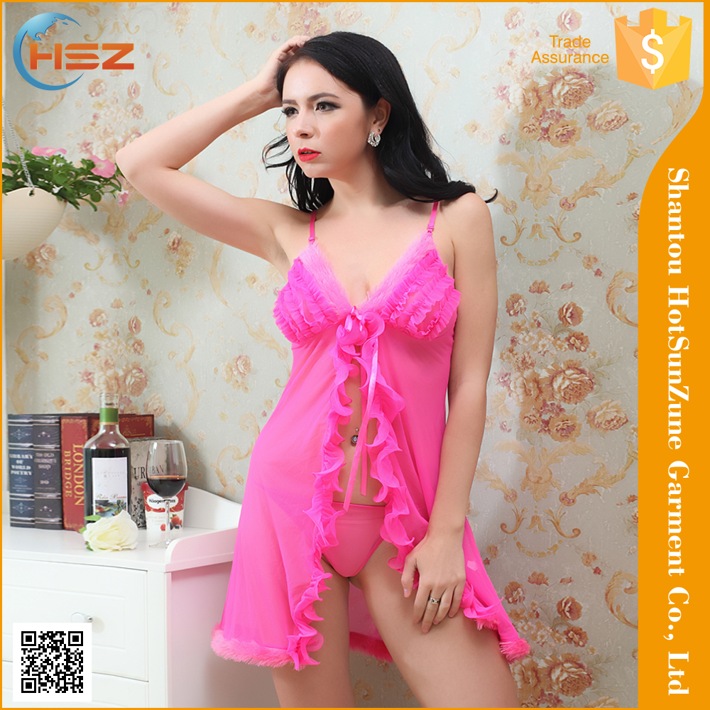 HSZ-6022# Hot sale sexy nude lingerie pic babydoll mature women sexy lingerie pics women sexy revealing lingerie