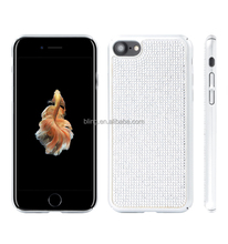 New Arrival PC hard cell phone case for iphone 7 diamond phone back cover