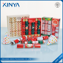 XINYA China Products Party Decoration International Christmas Crackers Snaps With Toy