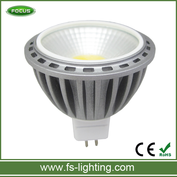 reflector lamp Aluminum Lamp Body Material and Spotlight Type MR16 LED GU5.3 Reflector 12v ceiling lights