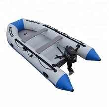 CE 2019Year 30Horsepower engine 4.3m inflatable <strong>boat</strong> with outboard motor