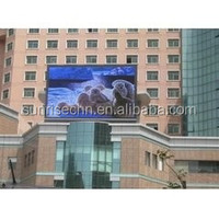 waterproof 8000nits P6 P8 P10 outdoor large building advertising led billboard for sale
