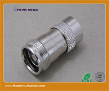 rf coaxial n male to 4.3/10 female connector adapter converter