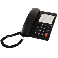 Basic Corded Telephone with Hands Free and LED Indication