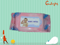 hot sale nice baby wipe with plastic case